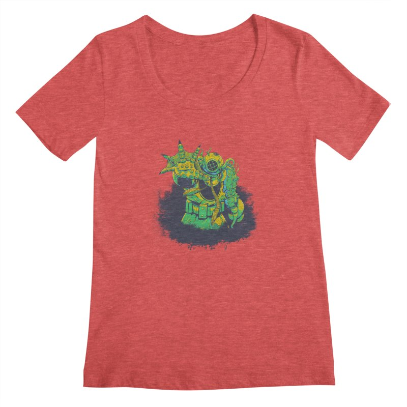 Green in the Gills  Women's  by Requiem's Thread Shop
