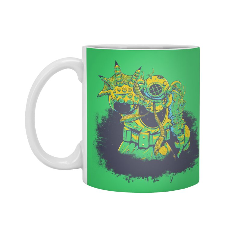 Green in the Gills  Accessories Mug by Requiem's Thread Shop