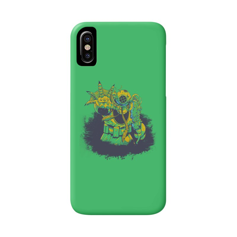Green in the Gills  Accessories Phone Case by Requiem's Thread Shop