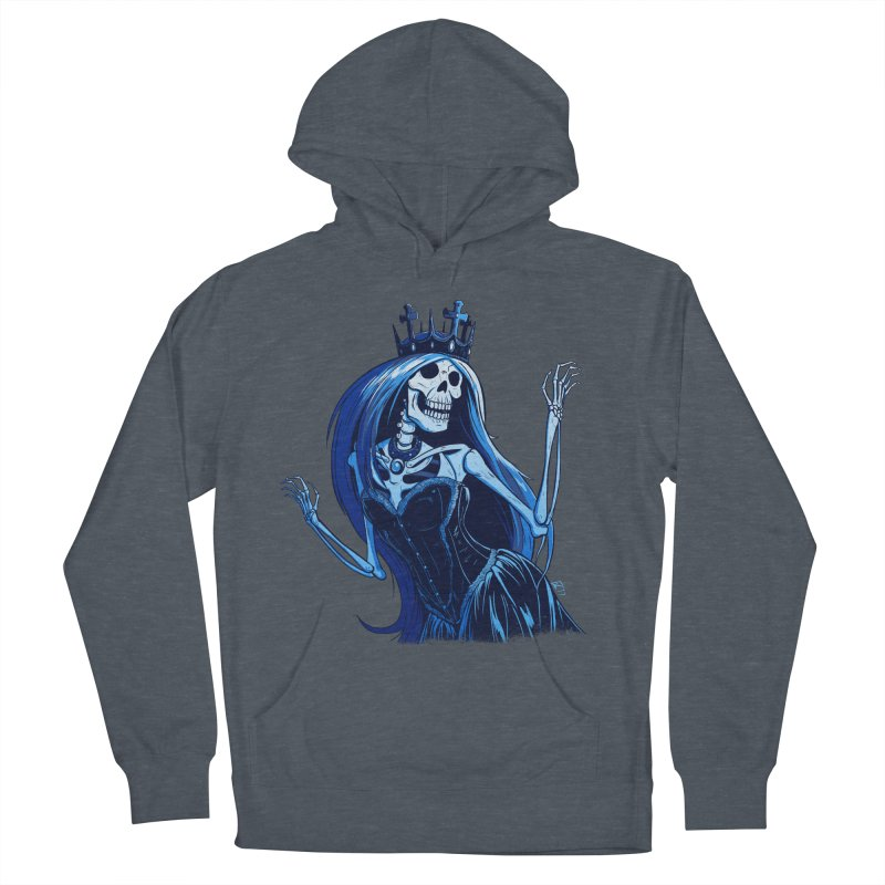 Lady Death Women's French Terry Pullover Hoody by Requiem's Thread Shop