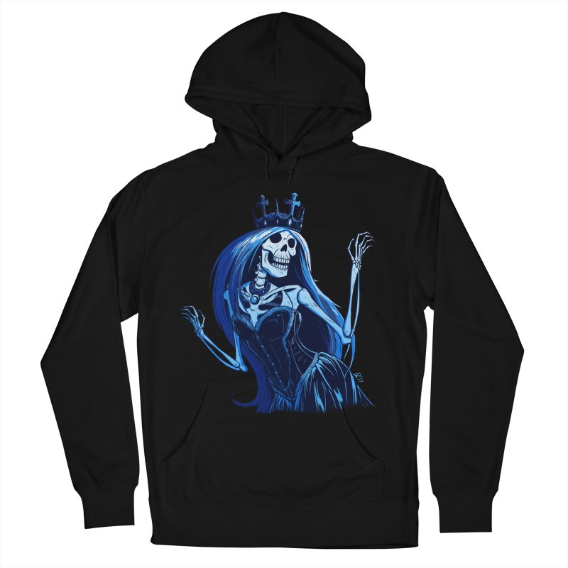 Lady Death Men's French Terry Pullover Hoody by Requiem's Thread Shop