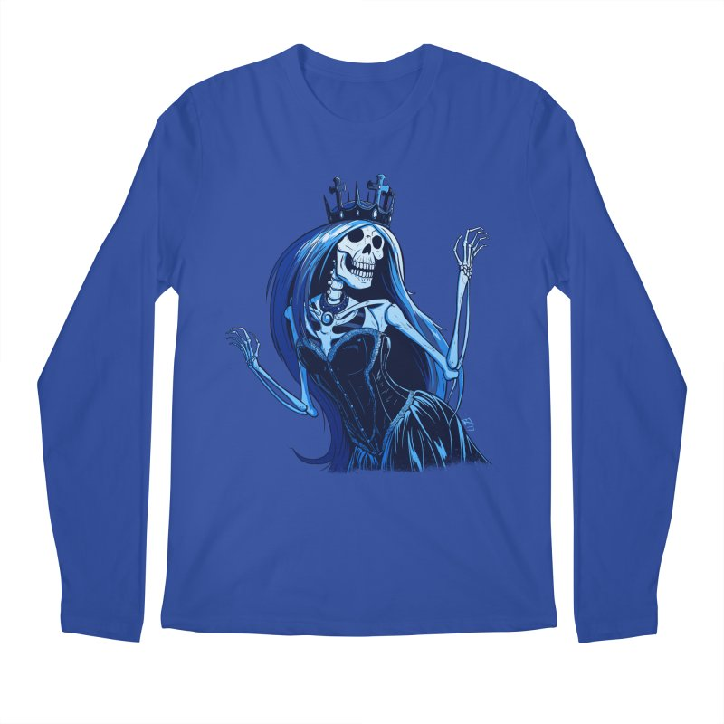 Lady Death Men's Regular Longsleeve T-Shirt by Requiem's Thread Shop