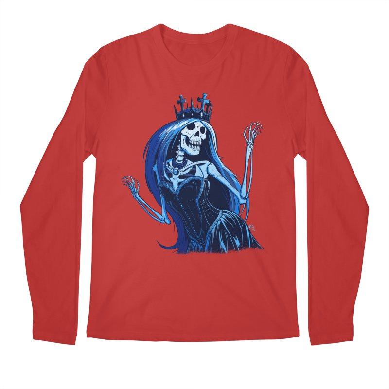 Lady Death Men's Regular Longsleeve T-Shirt by Requiem's Thread Shop