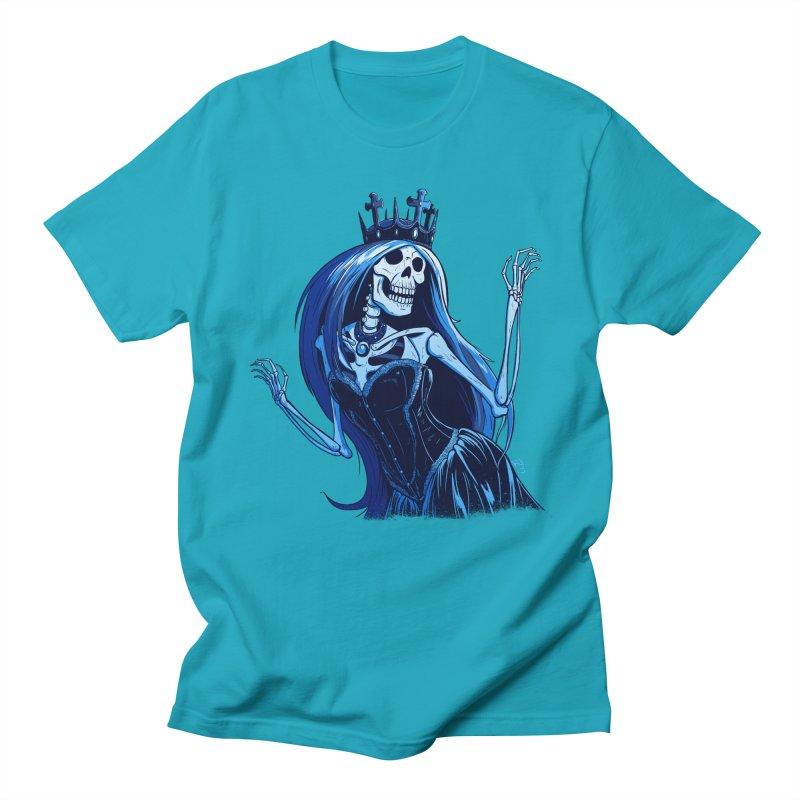 Lady Death Women's Regular Unisex T-Shirt by Requiem's Thread Shop