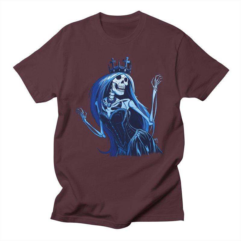 Lady Death Men's Regular T-Shirt by Requiem's Thread Shop