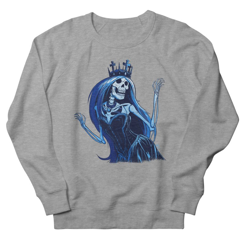 Lady Death Women's French Terry Sweatshirt by Requiem's Thread Shop