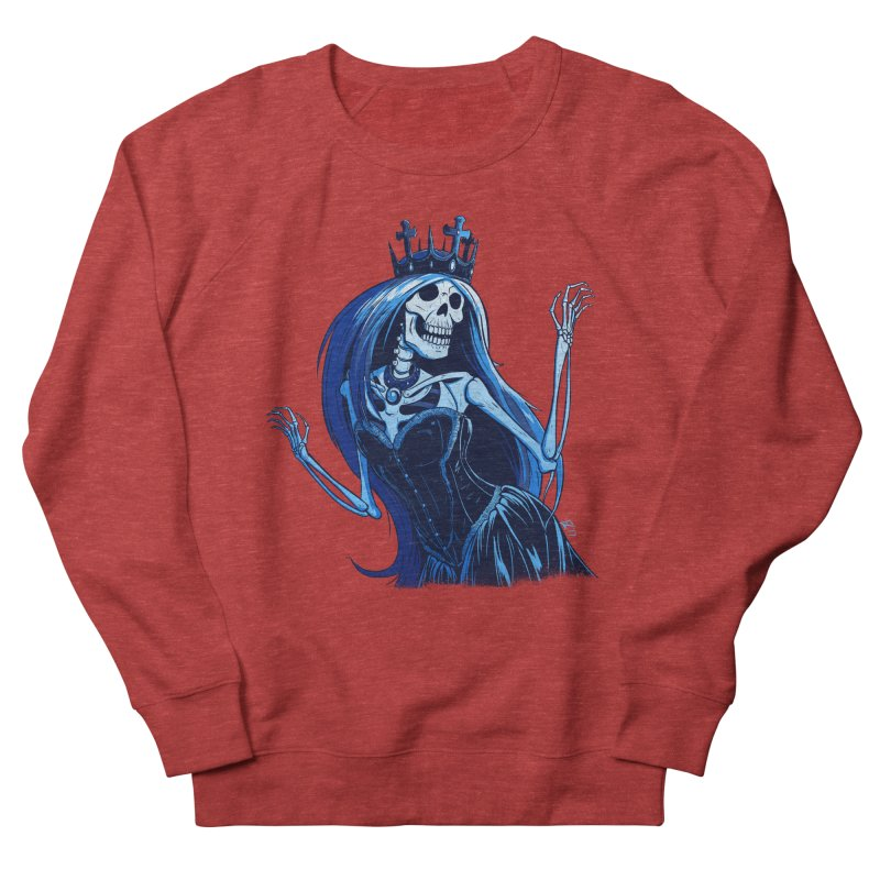 Lady Death Women's French Terry Sweatshirt by Requiem's Thread Shop