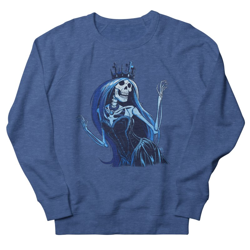 Lady Death Men's French Terry Sweatshirt by Requiem's Thread Shop