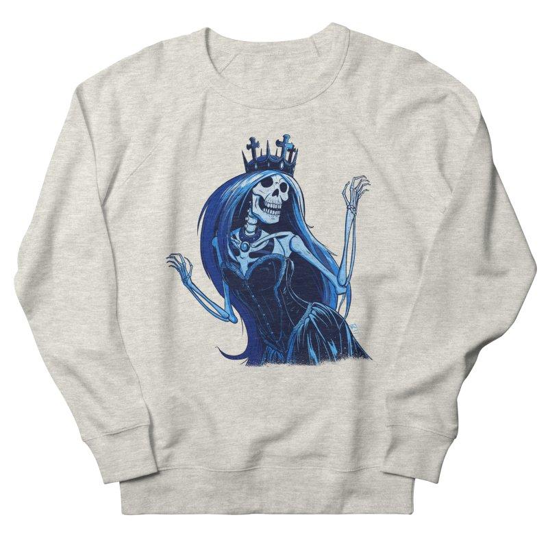 Lady Death Men's French Terry Sweatshirt by Requiem's Thread Shop