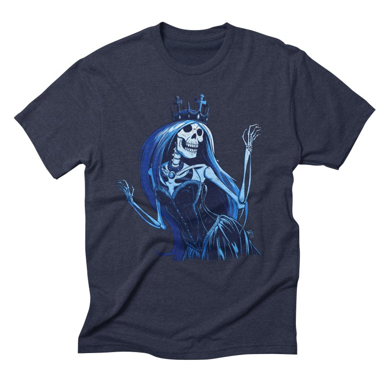 Lady Death Men's Triblend T-Shirt by Requiem's Thread Shop