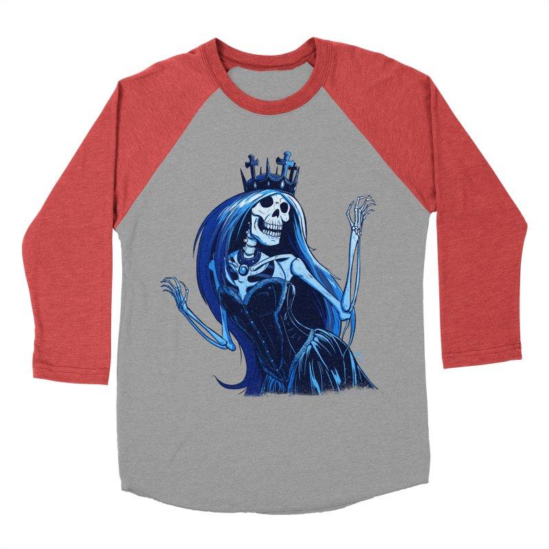 Lady Death Men's Baseball Triblend T-Shirt by Requiem's Thread Shop