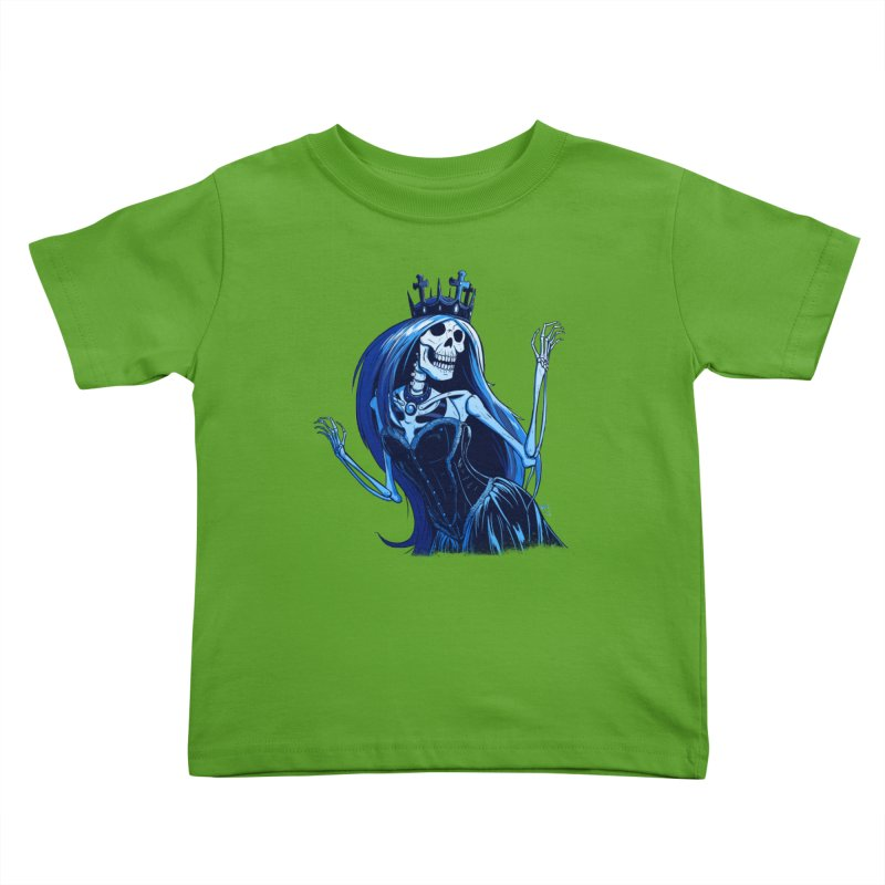 Lady Death Kids Toddler T-Shirt by Requiem's Thread Shop
