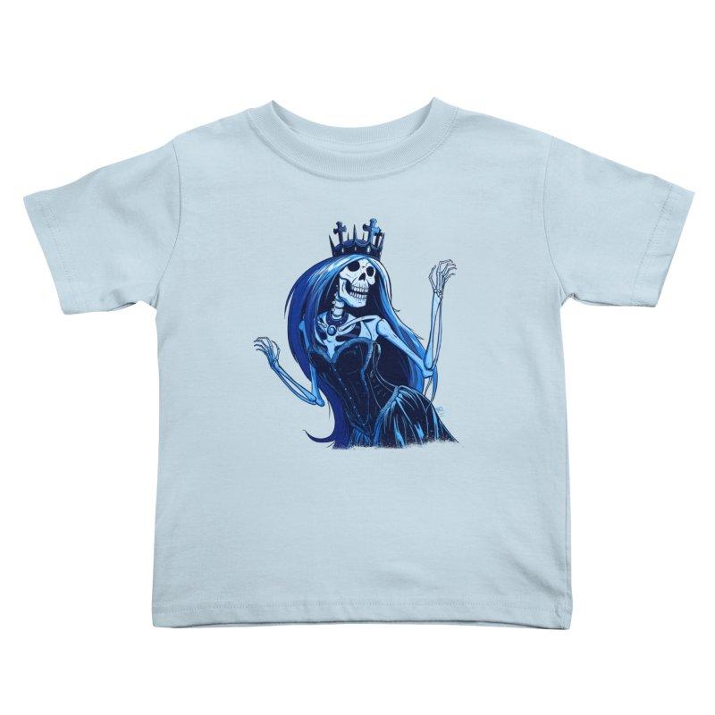 Lady Death Kids Toddler T-Shirt by Requiem's Thread Shop