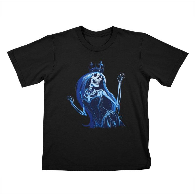 Lady Death Kids T-Shirt by Requiem's Thread Shop