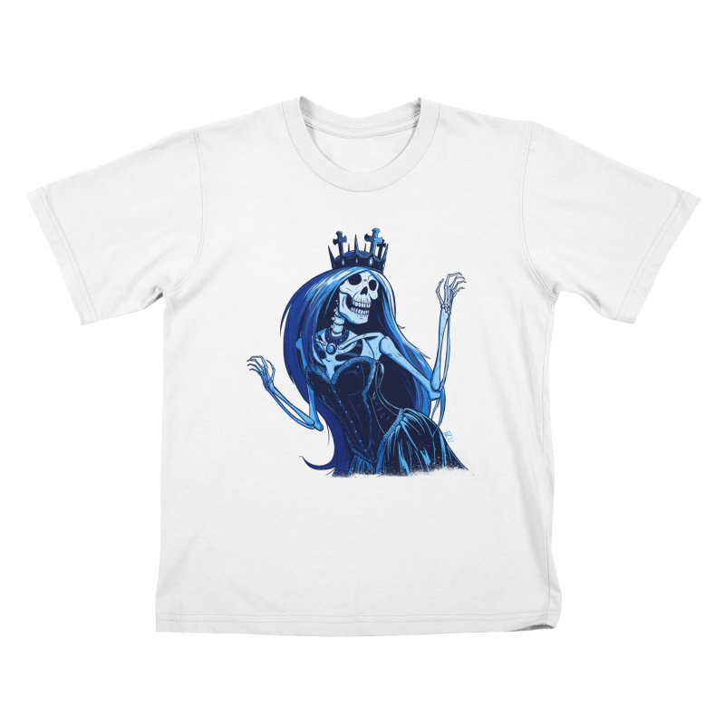 Lady Death Kids T-Shirt by Requiem's Thread Shop
