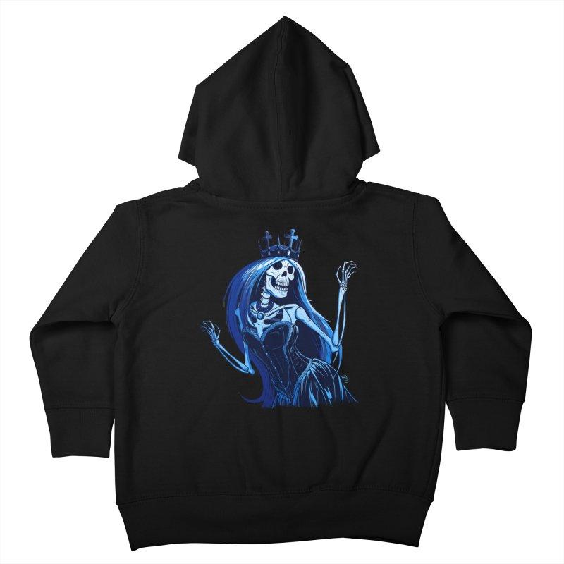 Lady Death Kids Toddler Zip-Up Hoody by Requiem's Thread Shop