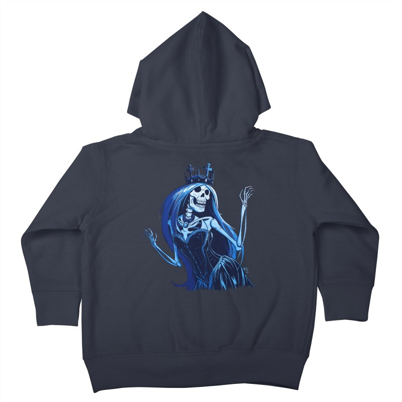 Lady Death Kids Toddler Zip-Up Hoody by Requiem's Thread Shop