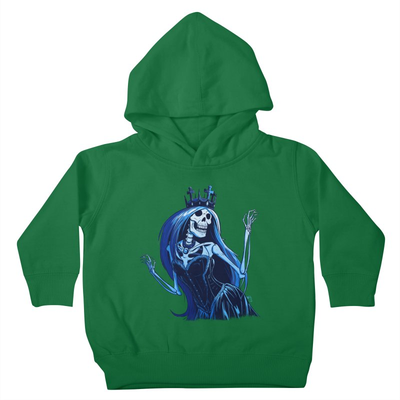 Lady Death Kids Toddler Pullover Hoody by Requiem's Thread Shop