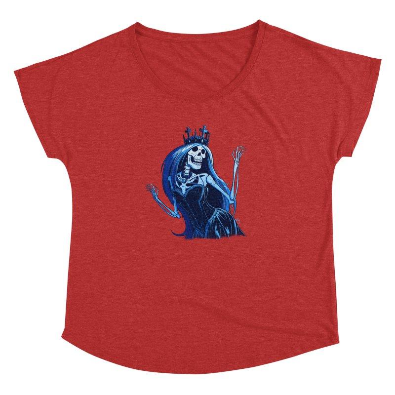 Lady Death Women's Dolman Scoop Neck by Requiem's Thread Shop
