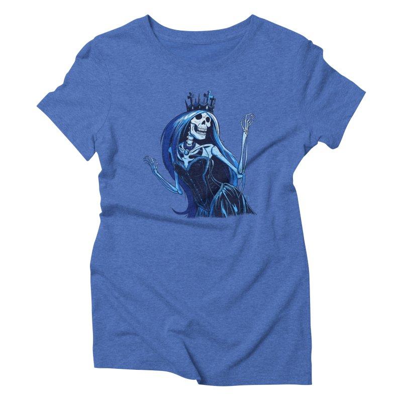 Lady Death Women's Triblend T-Shirt by Requiem's Thread Shop