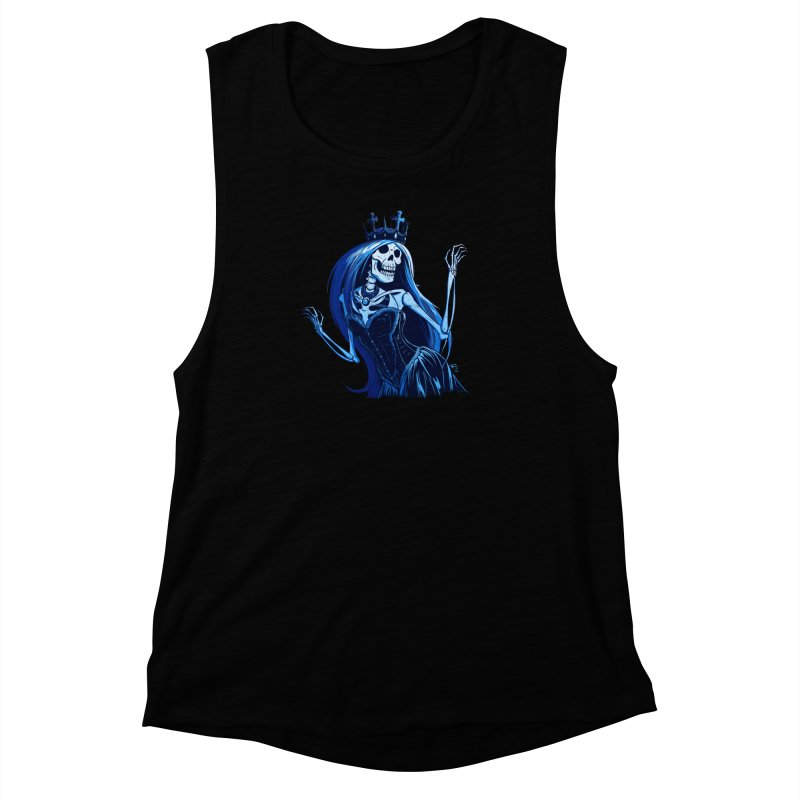 Lady Death Women's Muscle Tank by Requiem's Thread Shop