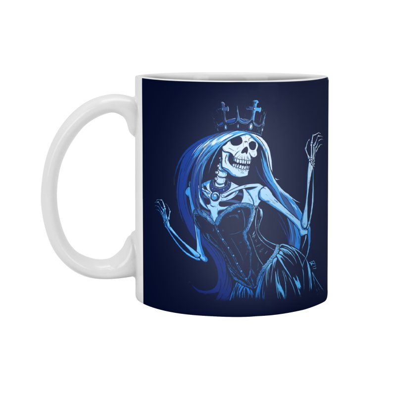 Lady Death Accessories Mug by Requiem's Thread Shop