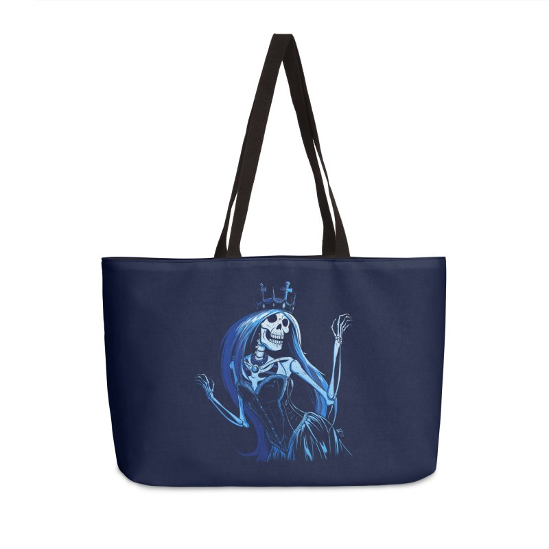 Lady Death Accessories Weekender Bag Bag by Requiem's Thread Shop