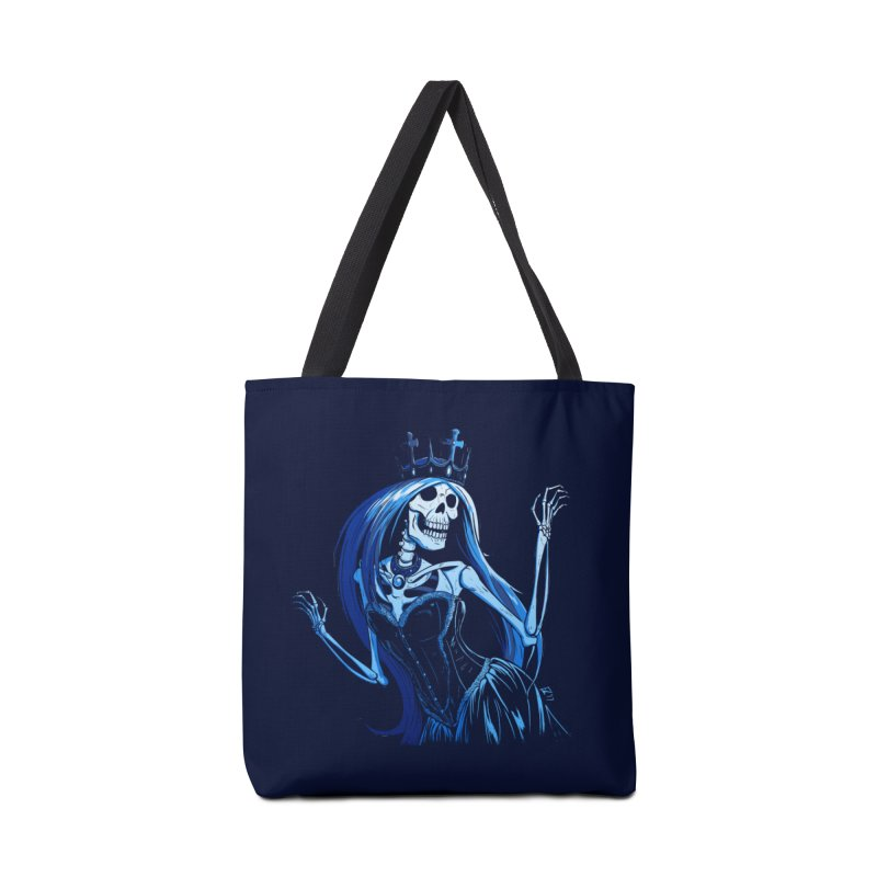 Lady Death Accessories Tote Bag Bag by Requiem's Thread Shop