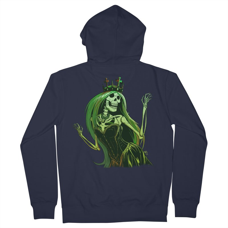 Lost Soul Men's French Terry Zip-Up Hoody by Requiem's Thread Shop