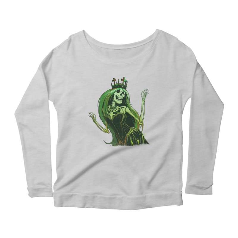 Lost Soul Women's Scoop Neck Longsleeve T-Shirt by Requiem's Thread Shop