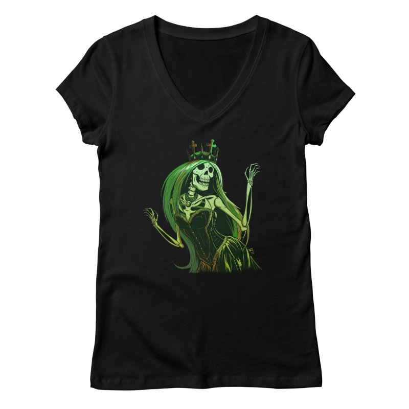 Lost Soul Women's Regular V-Neck by Requiem's Thread Shop