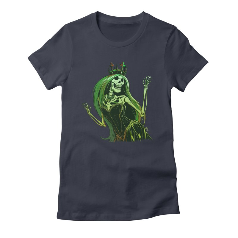 Lost Soul Women's Fitted T-Shirt by Requiem's Thread Shop