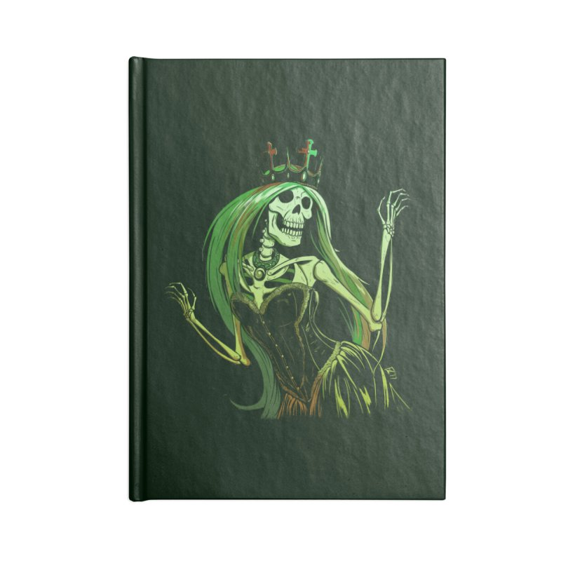 Lost Soul Accessories Lined Journal Notebook by Requiem's Thread Shop