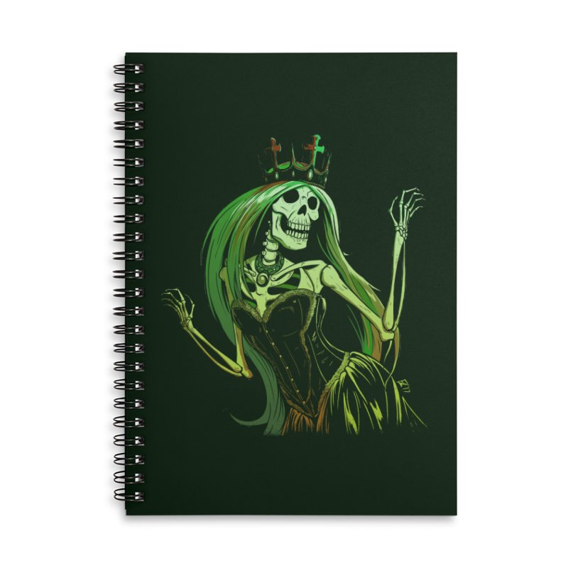 Lost Soul Accessories Lined Spiral Notebook by Requiem's Thread Shop