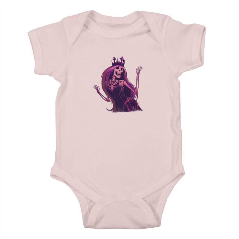 Not Bubblegum  Kids Baby Bodysuit by Requiem's Thread Shop
