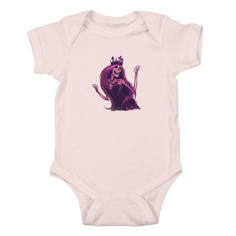 Not Bubblegum  Kids Baby Bodysuit by Requiem's Thread Shop