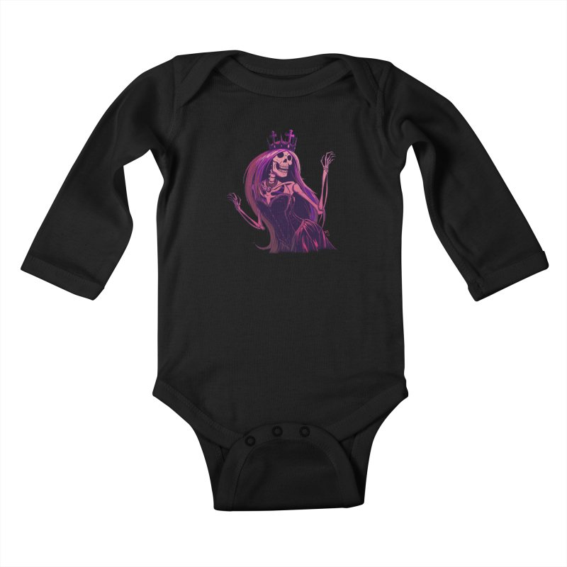 Not Bubblegum  Kids Baby Longsleeve Bodysuit by Requiem's Thread Shop