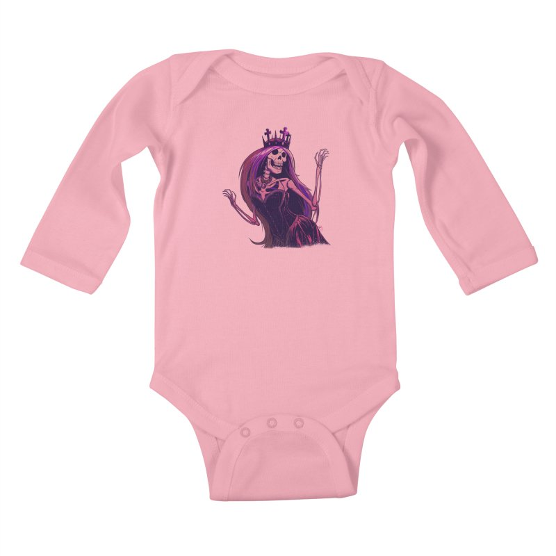 Not Bubblegum  Kids Baby Longsleeve Bodysuit by Requiem's Thread Shop