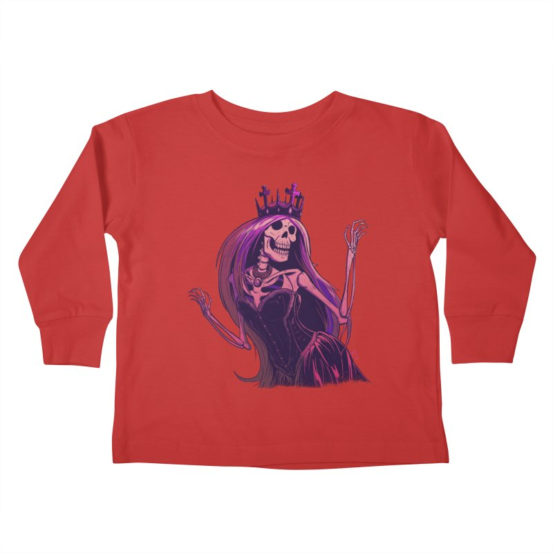 Not Bubblegum  Kids Toddler Longsleeve T-Shirt by Requiem's Thread Shop