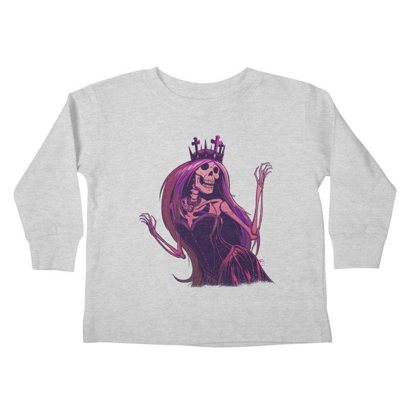 Not Bubblegum  Kids Toddler Longsleeve T-Shirt by Requiem's Thread Shop