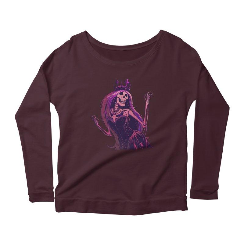 Not Bubblegum  Women's Scoop Neck Longsleeve T-Shirt by Requiem's Thread Shop