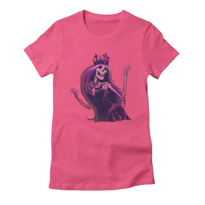 Not Bubblegum  Women's Fitted T-Shirt by Requiem's Thread Shop