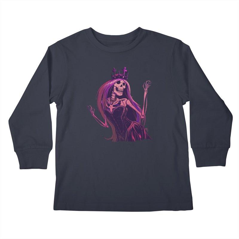 Not Bubblegum  Kids Longsleeve T-Shirt by Requiem's Thread Shop