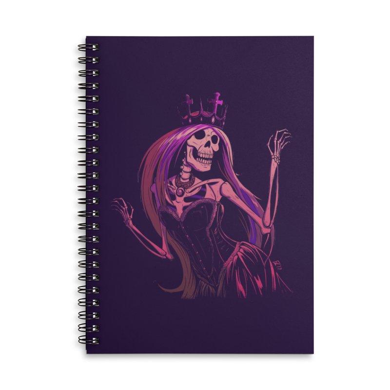 Not Bubblegum  Accessories Lined Spiral Notebook by Requiem's Thread Shop