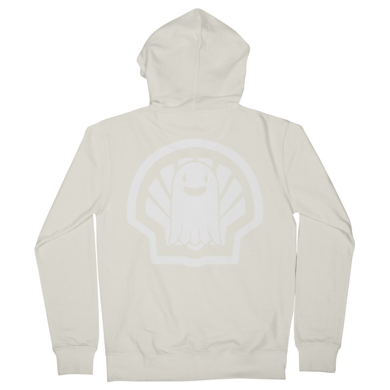 Ghost In A Shell Men's French Terry Zip-Up Hoody by Requiem's Thread Shop