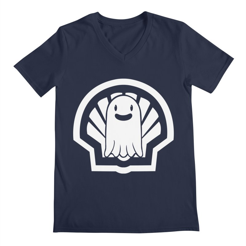 Ghost In A Shell Men's V-Neck by Requiem's Thread Shop