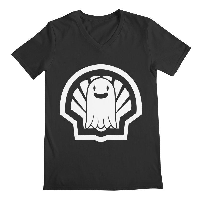 Ghost In A Shell Men's Regular V-Neck by Requiem's Thread Shop