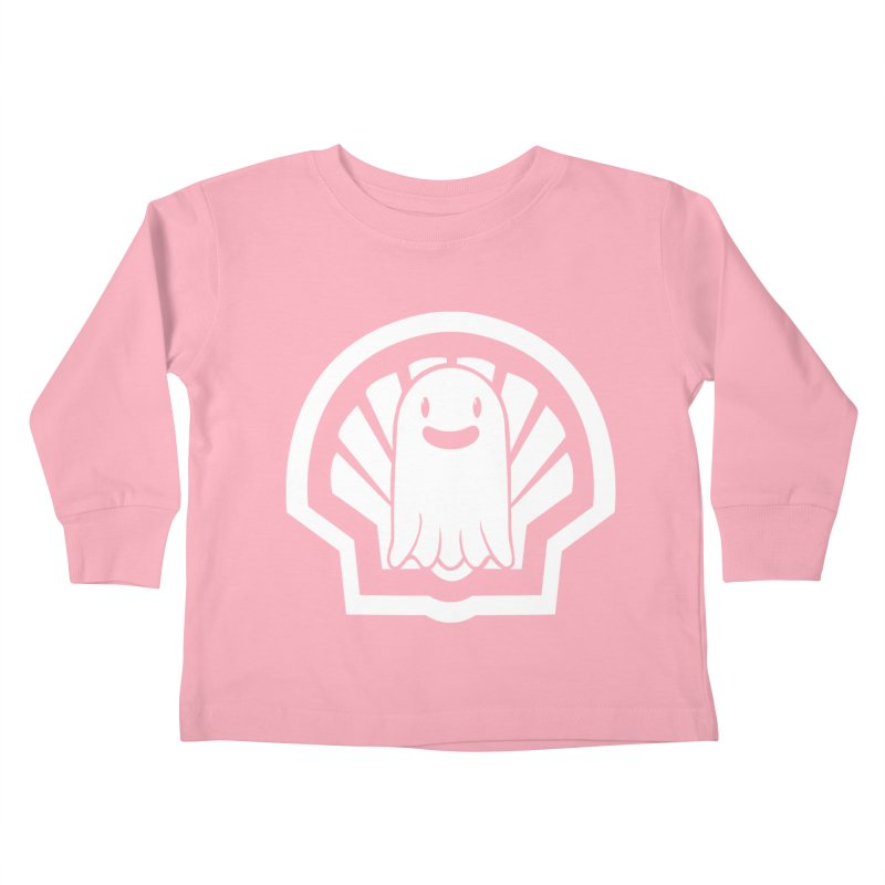 Ghost In A Shell Kids Toddler Longsleeve T-Shirt by Requiem's Thread Shop