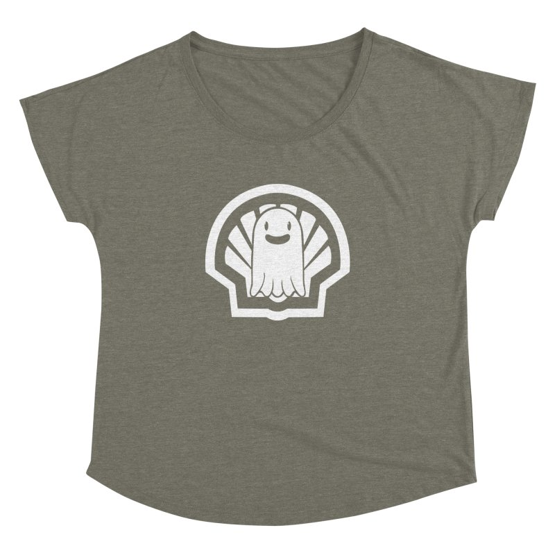 Ghost In A Shell Women's Scoop Neck by Requiem's Thread Shop