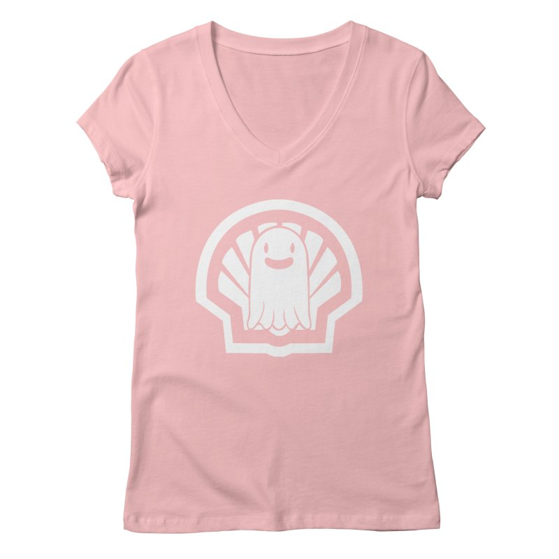 Ghost In A Shell Women's Regular V-Neck by Requiem's Thread Shop
